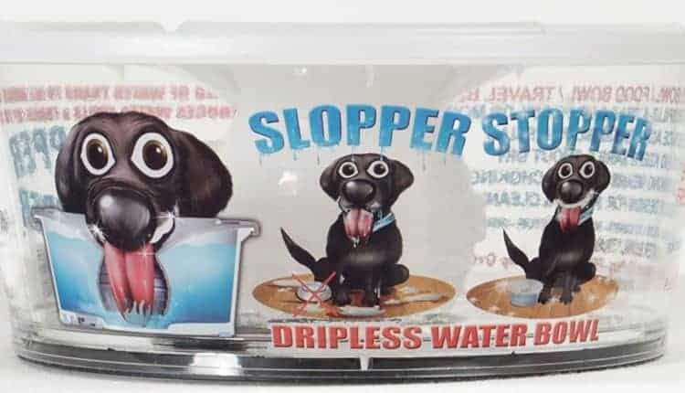 Slopper Stopper Dripless Water Bowl