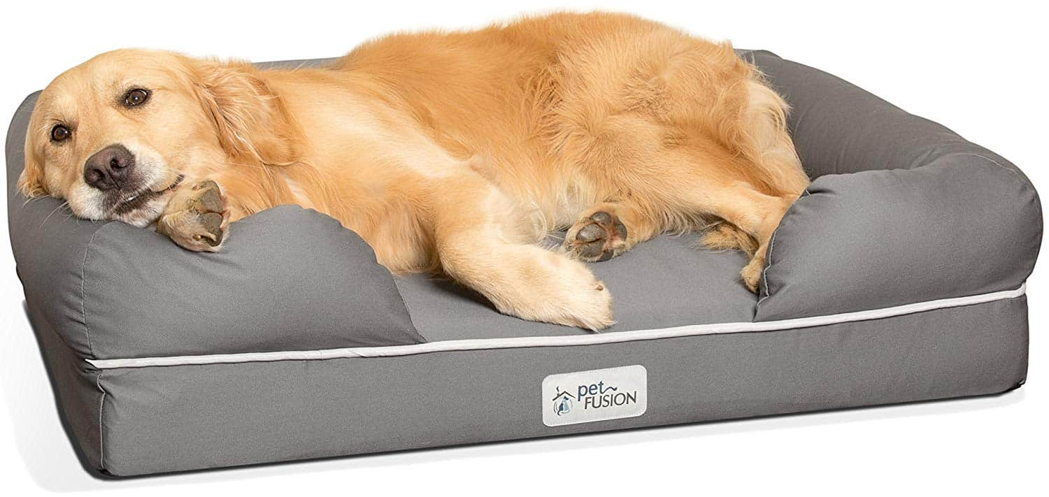 best orthopedic dog bed for large breed